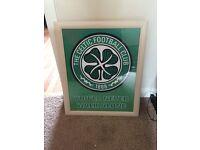 Framed Celtic FC photo