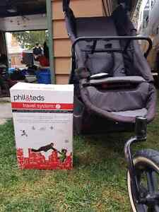 Phil & Ted double stroller