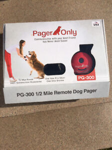 Pager Only E-Collar for dogs