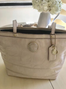 Coach Cream Purse