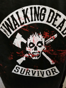Rare Walking Dead shirts various sizes limited number available