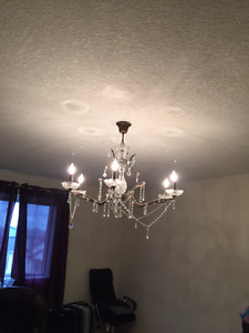 Crystal Chandelier | Kijiji in London. - Buy, Sell & Save with ...