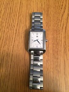 Tommy Hilfilger Silver Watch Stratford Kitchener Area image 1