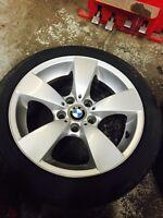 225/45r17 pirelli p7 (brand new) on OEM BMW rims