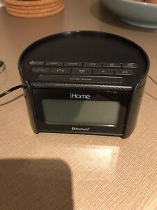 iHome Radio and Bluetooth