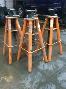 10 Ton Vehicle Stands