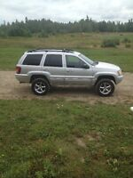 2003 JEEP CHEROKEE, LIMITED EDITION/LOADED! 4'' LIFT KIT!