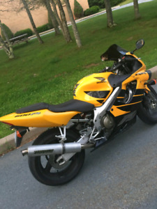 1999 Honda CBR600F4 trade for car