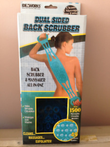 Dual Sided Back Scrubber