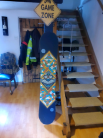 Used, K2 FastPlant Snowboard 159 for sale  Thetford, Norfolk
