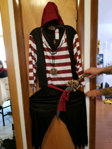 Costume d'halloween pour homme (Pirate)