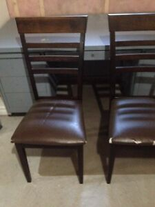 Two Ladder Back Chairs  London Ontario image 1