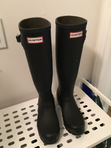 Lightly Used Hunter Boots