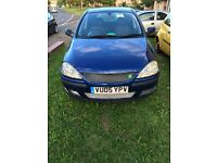 Corsa c 1.2 sxi spares or repair