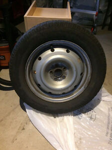 Winter Tires 225/60/R16 with rims West Island Greater Montréal image 1