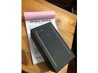 Iphone 7 Jet Black 128gb brandnew unlocked