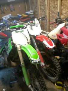 kx250 and cr125