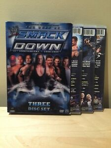 WWE THE BEST OF SMACKDOWN 10th ANNIVERSARY DVD