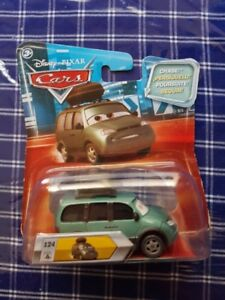 Disney Pixar Cars Diecast VAN With Stickers CHASE Lenticular Mov