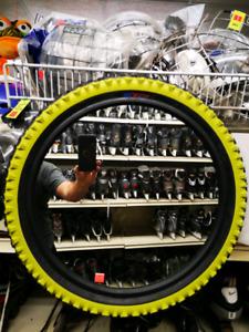 BMX tire mirrors