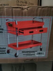 RED ONE DRAWER TOOL CART NEW STILL IN THE BOX Windsor Region Ontario image 1