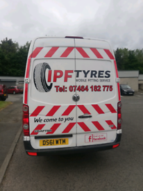 I P F mobile tyres