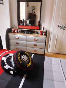 Hot wheels  boys bed room