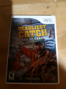 Wii deadliest catch see of chaos