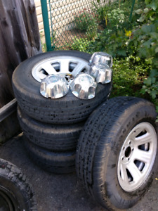 Ford ranger tires and rims
