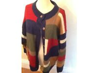 Vintage C&A mohair mix cardigan medium