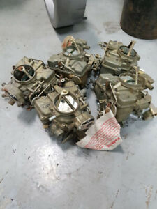 5 New Holley Carbs