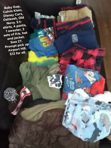 Boys Clothing Size 2 and 3