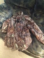 Men's Camo Insulated Hunting Jacket