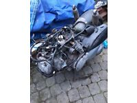 HONDA SH 125 2007 job lot of parts! Complete running engine & loom etc.. Cheap! L@@k now