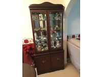 Display Cabinet and Matching Corner Unit
