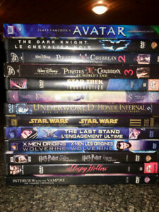 Fantasy Marvel Disney 13 Very Popular Movies 2$ per movie
