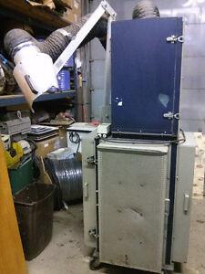 Used AERON electrostatic Welding fume extractor usagé négo