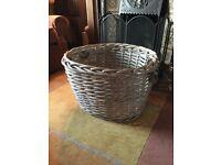 Vintage Log/Laundry or Toy Basket