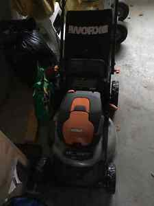 One Year Old Lawn Mower