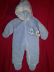 Baby Boys 1pc Fleece CarSeat Outfit 0-6mts,NEW