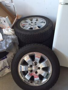 Stock jeep rims with winter tires