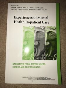 Experiences of Mental Health In-patient Care textbook