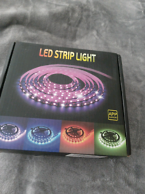 Led strip lights with remote boxed new