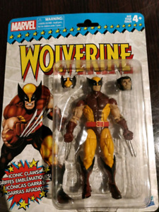 Marvel Legends Retro wave Wolverine