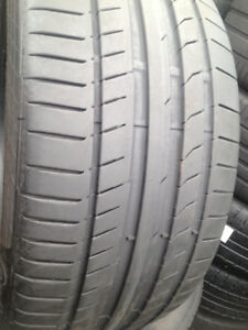 3 Continental Summer tires 255/35/19