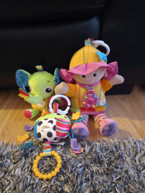 Lamaze baby toys all for £5