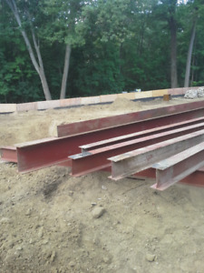 I' BEAMS Different sizes – Height - 10 inches X 7 feet- $165.