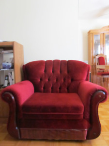FOR SALE: matching couch and chair