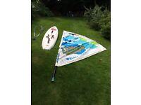 Windsurf Board and sails - FREE!