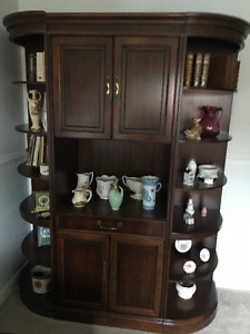 Linton Armoire with two removable sides